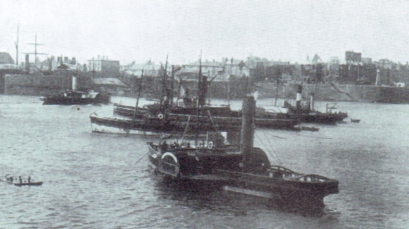 Cardiff Paddle Steamers, c1895