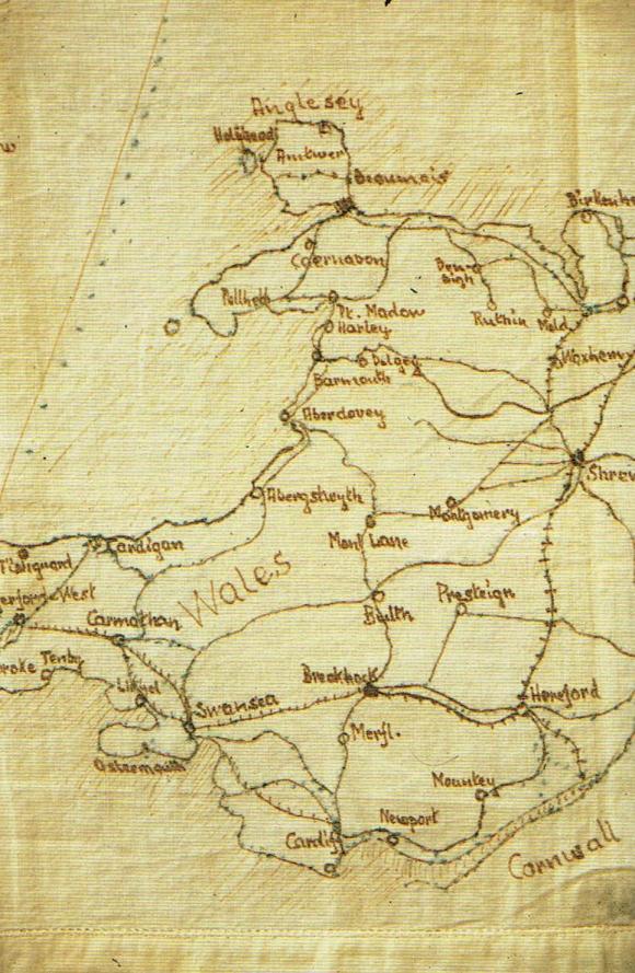 Island Farm Wales Map