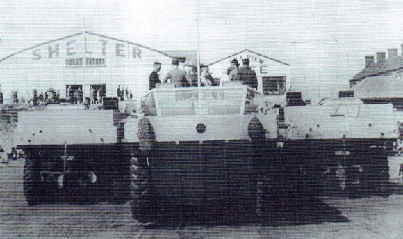 PORTHCAWL WWII DUKW
