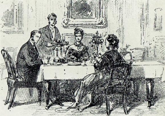 Victorian Dinner