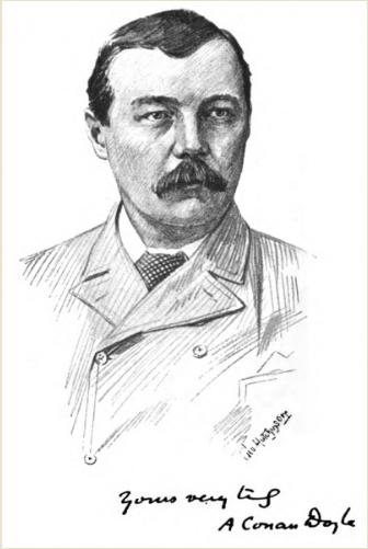 Arthur_Conan_Doyle_by_George_Wylie_Hutchinson 1894